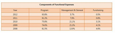 4 Functional Expenses
