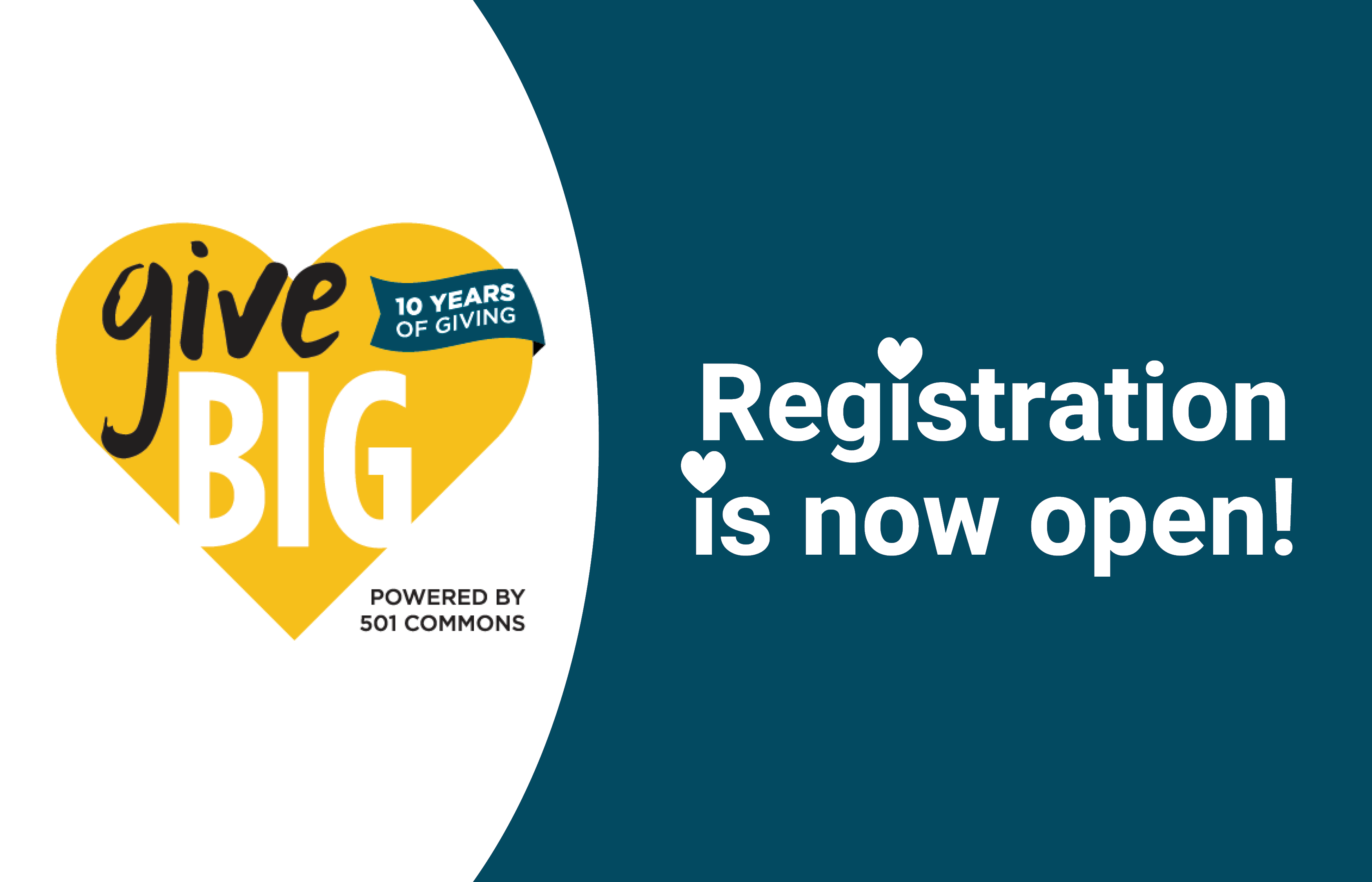 GiveBIG Washington Registration is Open! See What's New