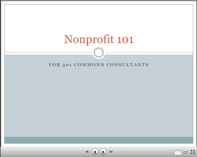 Nonprofits 101