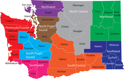 Washington State regions