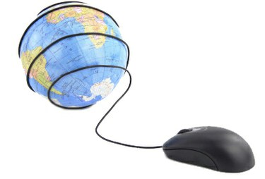 World with mouse