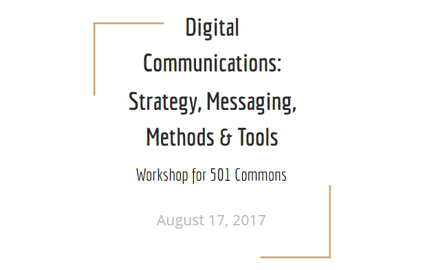 Digital Communications for Nonprofits slide deck (v2)