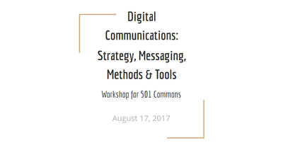Digital Communications for Nonprofits